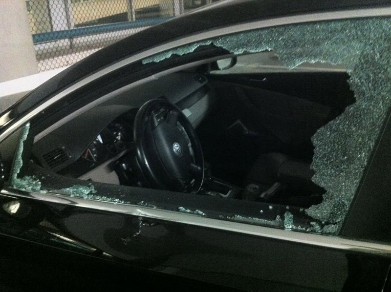 Repair of auto vandalism and stolen vehicle repair in Miami Brickell Miami Beach & Downtown Miami.