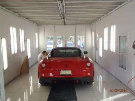 Paint Booth Rental >> Body Shop - auto paint and body shop collision repair ...